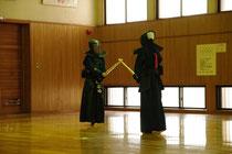 剣道してる姿はなかなかかっこいい!…?面つけてるから?