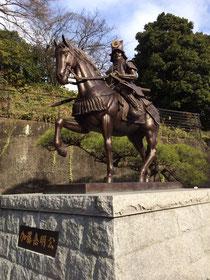 Statue of Kato Yoshiaki