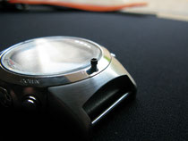 Suunto D6  - This is the Screw at the 6 )'Clock position
