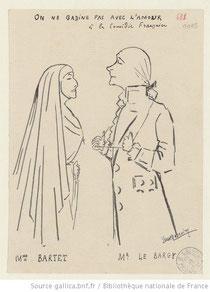 Dessin de Yves Marevéry, 1906