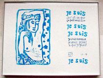 Je suis comme je suis. Jacques Prévert - Emmanuelle Jamme, Tamponades
