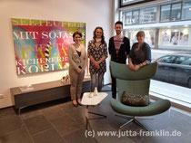Jutta Franklin und das Team von BoConcept München