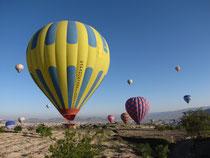 50 Heissluftballone