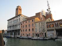 Jetzt bin ich in Venedig