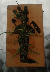 Der Kornosiris mit Weizen