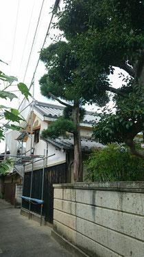 観音寺 蔵葺き替え工事 日本瓦