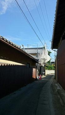 蔵 葺き替え工事 観音寺
