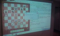 Demobrett war gestern! Trainings-Alltag im MSV 06 Berlin:   Der Einsatz von Beamer und Software-Tools aus dem Hause ChessBase.