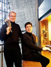 Duo Marc Bühler und Timo Handschuh