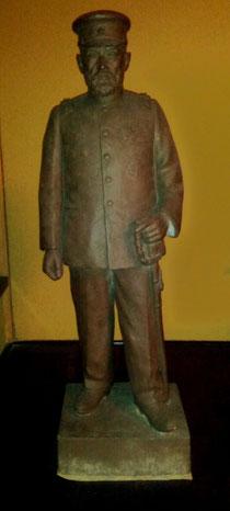 日本陸軍彫刻部製 乃木希典元帥像