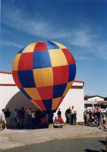 Erste Befüllung - 2002