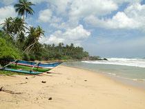 Einsamer Strand an der Südküste bei Tangalle