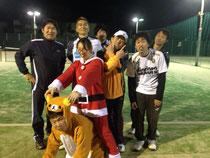 クリスマスinテニス