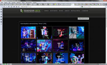 Light city - Gallery page, Город света страница галерея