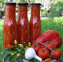 Natures Earth Works Raw Vegan Chilli Sauce