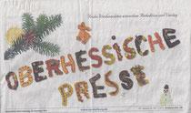 Köchevereinigung backt OP-Schriftzug für Heiligabend-Ausgabe