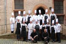 Köche am Marburger Landgrafenschloss