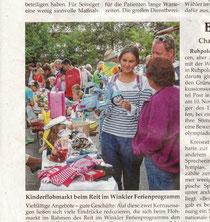Quelle Traunsteiner Tagblatt 24.8.13 Foto Ostermaier