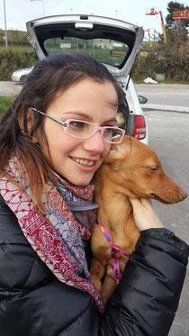 Lizzy con Marianna