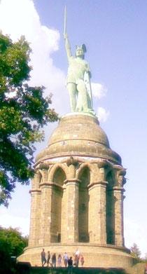 Arminius -Hermann - Denkmal bei Detmold