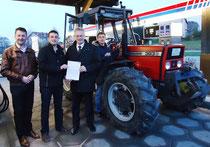 Petition für Agrardieselrückerstattung übergeben