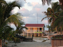 dive shack, Belize