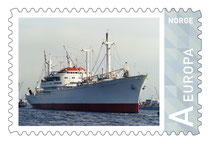 Norwegen Briefmarke Cap San Diego