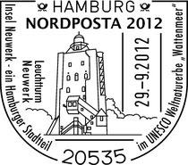 29.09.2012 Leuchtturm Neuwerk