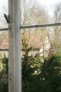 Blick aus dem Atelierfenster