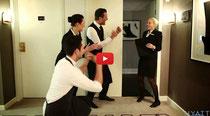 Witziger Imagefilm über Hotelausbildung by Hyatt