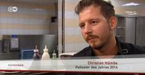 Christian Hümbs ist Patissier des Jahres 2014