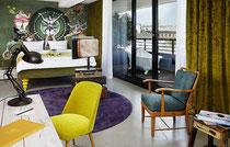 Rundgang im neuen 25hours Hotel in Wien