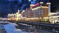 Olympische Winterspiele - Kreml legt Hotelpreise in Sotschi auf maximal 350 Euro im Einzelzimmer fest