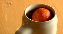 Hier kommt die Mandarine ins Bier