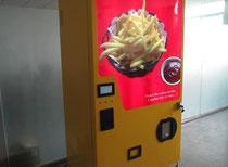 Pommes aus dem Automaten: Tabubruch in Belgien - Neuer Pommes-Verkaufsautomat aus China