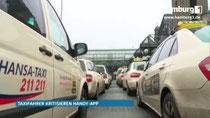 Streit um Taxi-App - Fahrgäste werden an Meistbietende versteigert