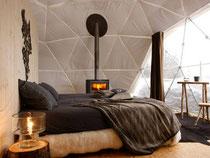 Whitepods - Übernachten in Luxuszelten - Neues Eco-Luxury Hotel in den Schweizer Alpen