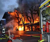 Großbrand: Heizstrahler setzt Hotel Traube in Oberstdorf in Flammen – Totalschaden