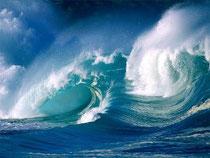 Panta rhei - alles fließt (Heraklit)... oftmals haben wir Schwierigkeiten, uns dem Fluß des Lebens anzuvertrauen