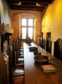 Nuit au château petit déjeuner dans la Chambre Royale
