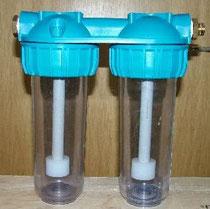 Bubbler aus Doppelwasserfilter