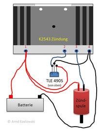 K2543 Verschaltung
