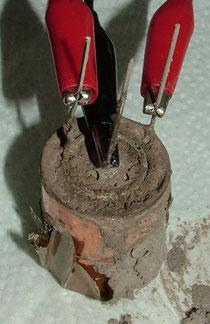 Kupfermuffenbatterie