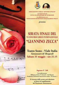 """6° concorso Lirico Internazionale """"Giannino Zecca"""""""