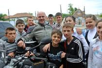 Erinnerungsfotos in der Ukraine