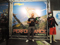 Fabien Barel at URGE booth