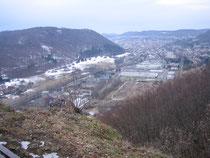 BLICK VOM MÜHLENFELS  846 m