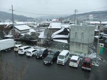 冬景色の岡谷