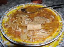Sopa de Mongondo Hondureña
