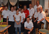 Das MKK Team mit dem Wirtepaar